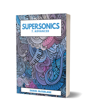 Supersonics Piano Collection Book 7 cover