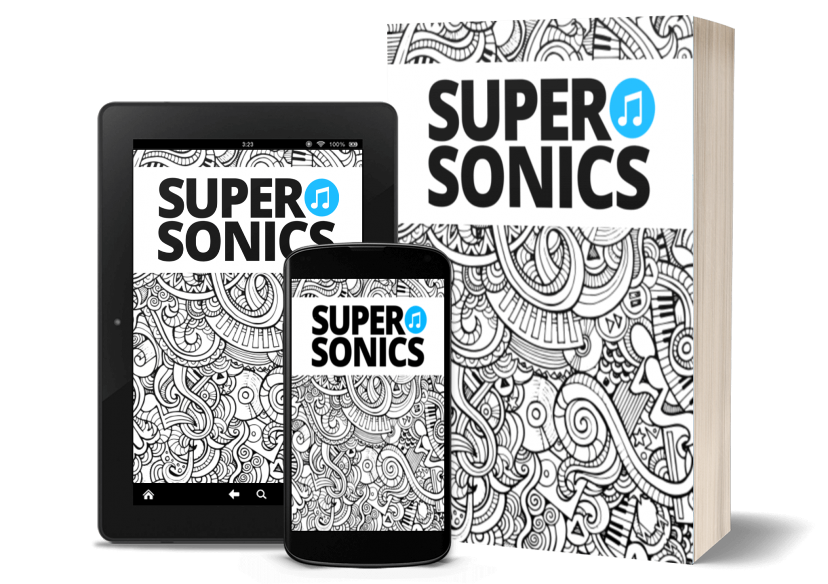 Supersonics Plus app piano teaching resources