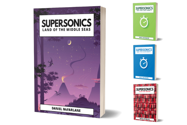 Supersonics Piano Method bridging books