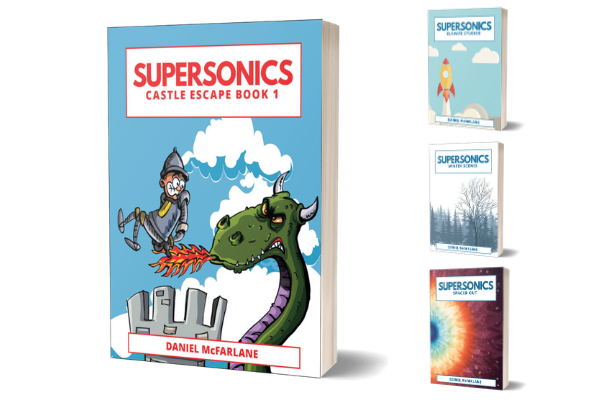 Supersonics Piano Books