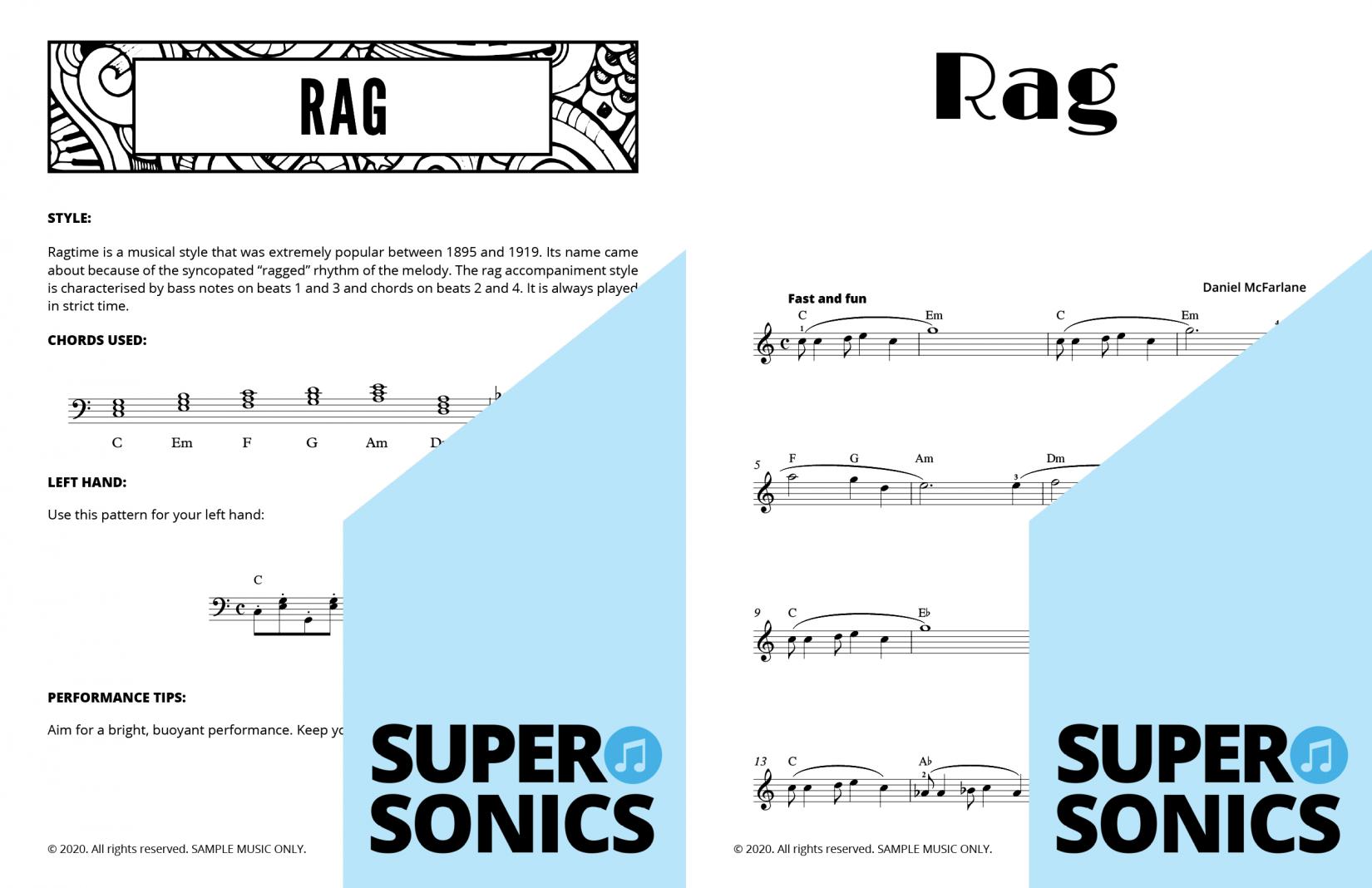 Supersonics Pop School 2 sample