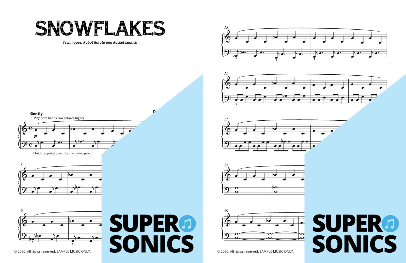 Supersonics Piano Method Module 17 sample