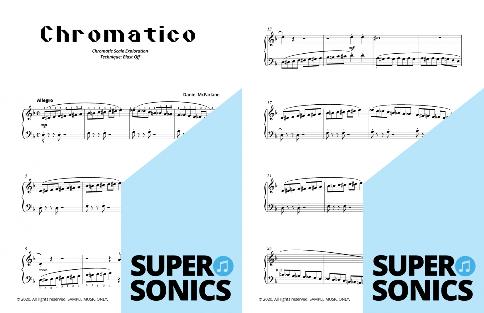 Supersonics Piano Method Module 26 sample