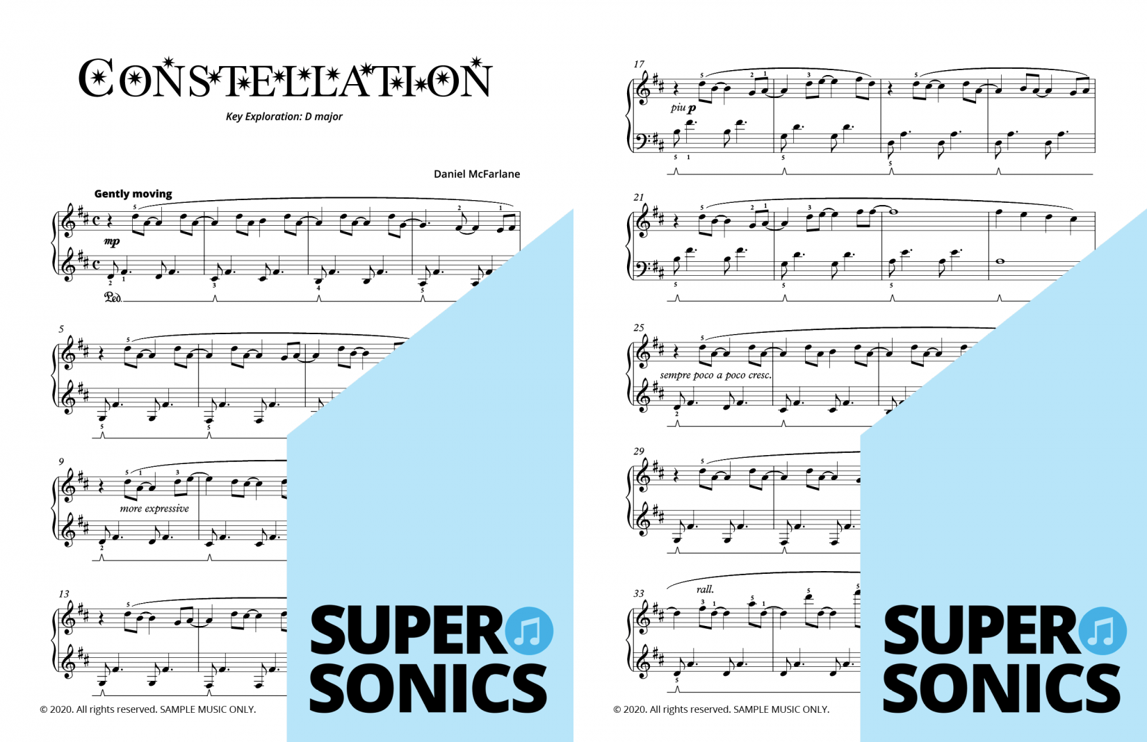 Supersonics Piano Method Level 4 Air Navigators sample