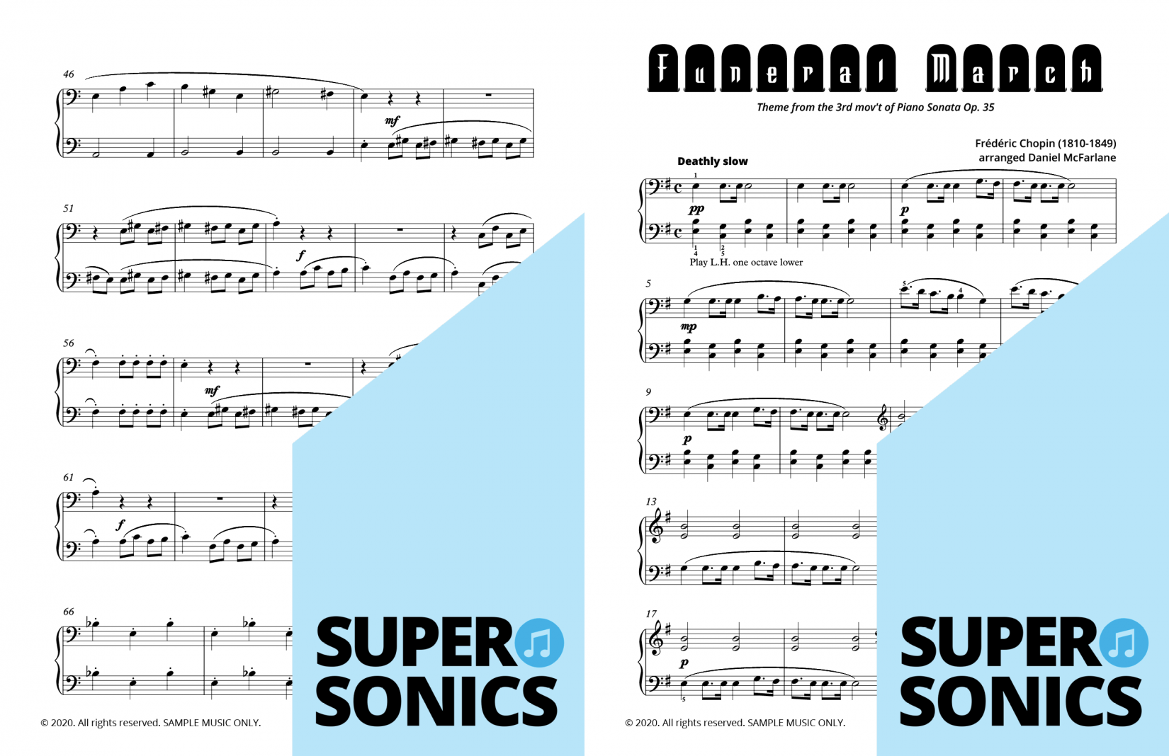 Supersonics Piano Method Level 4 Arrangements sample