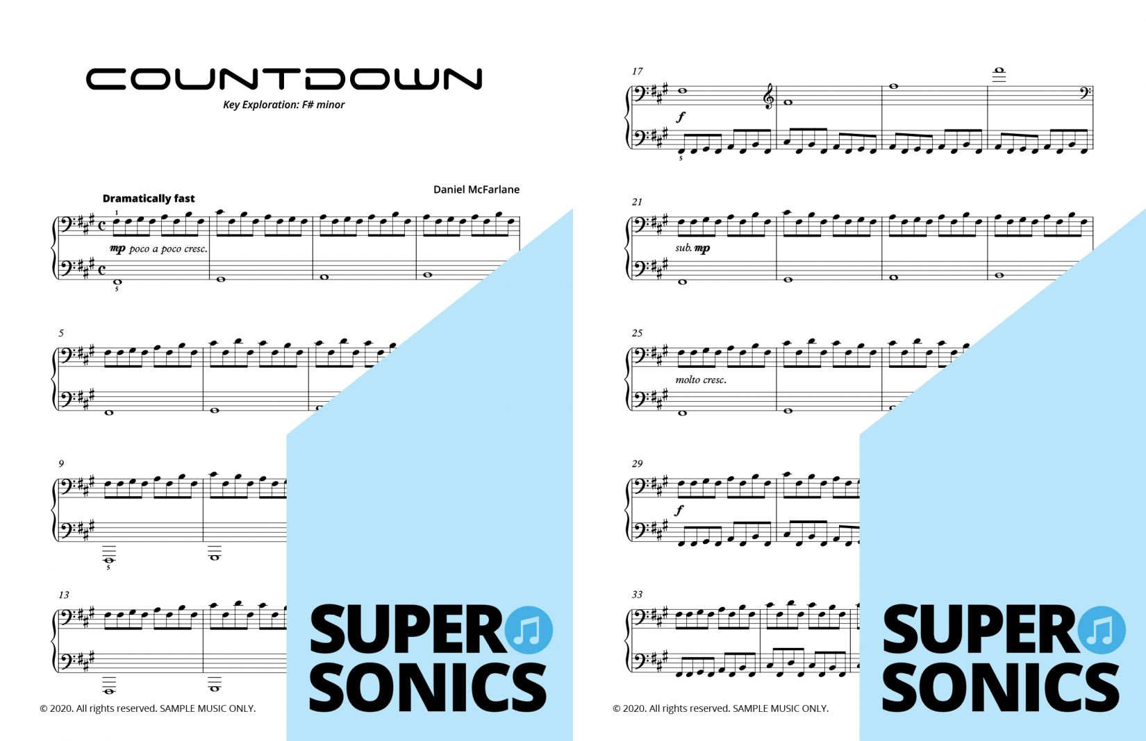 Supersonics Piano Method Level 5 The Outer Worlds sample