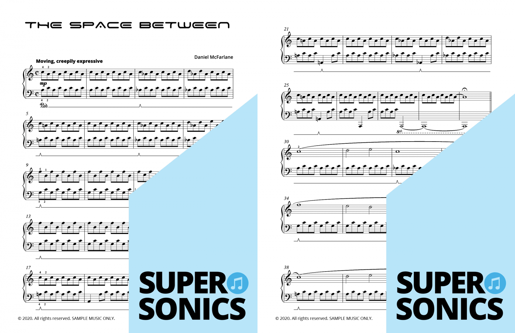Supersonics Piano Method Level 5 Solos sample