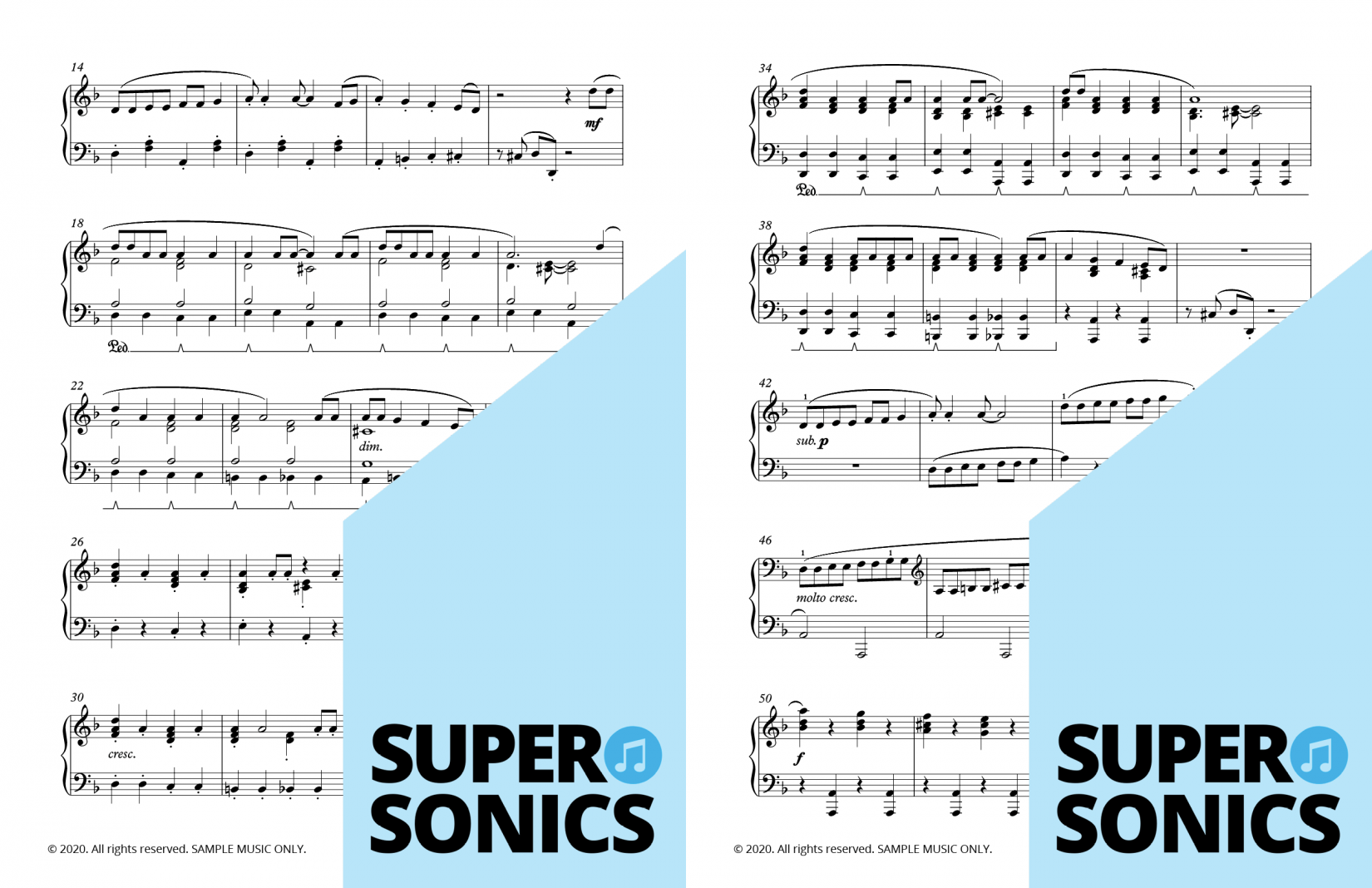 Supersonics Piano Method Level 5 World Music sample