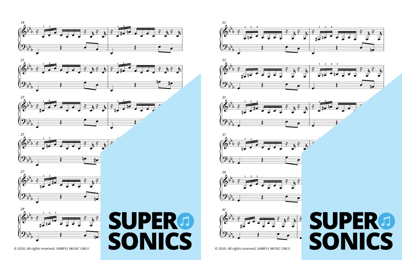 Supersonics Piano Method Level 5 Historical Sounds sample