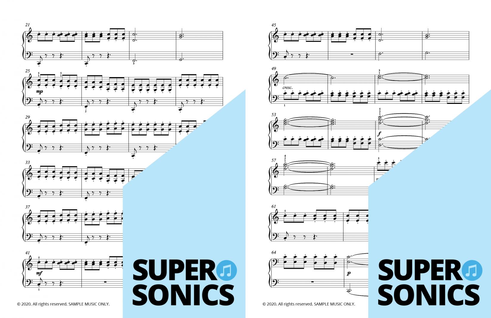 Supersonics Piano Key Explorer sample