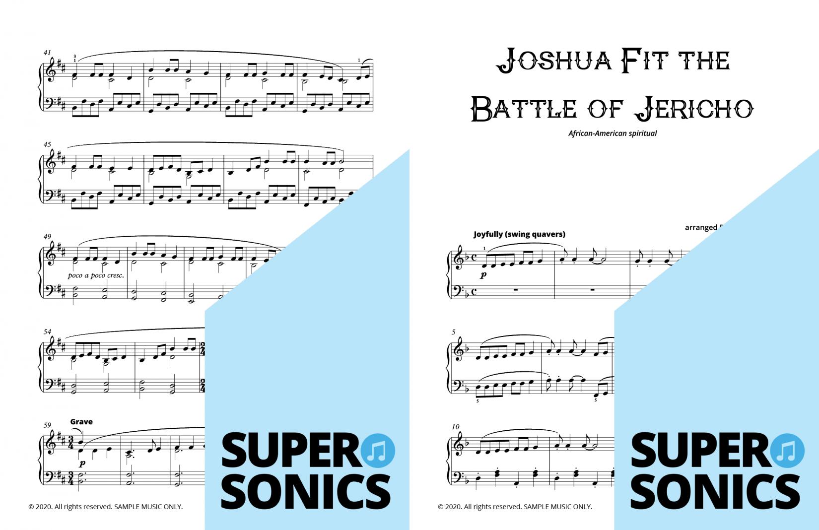 Supersonics Piano World Music sample