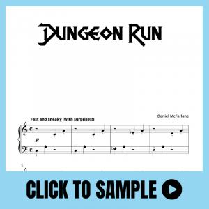 Dungeon Run Supersonics Piano